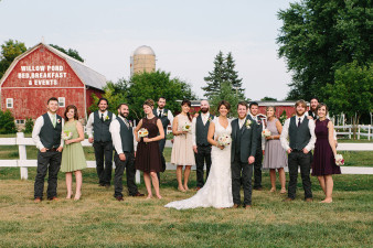 Willow Pond Wisconsin Wedding Venues