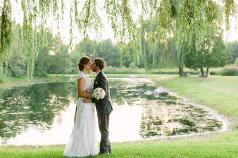 Willow Pond Barn Wedding Waupaca Wisconsin Wedding Photos