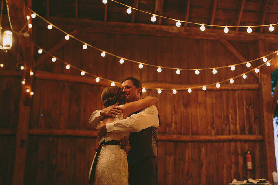 Barn Wedding Band in Wisconsin Photo
