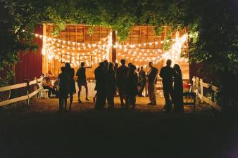 Ourdoor Barn Wedding