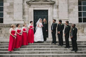 Trinity College Wedding