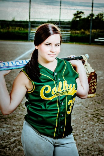 Colby Wisconsin Senior High School Softball Photos - James Stokes Photography Central Wisconsin Senior Photographer