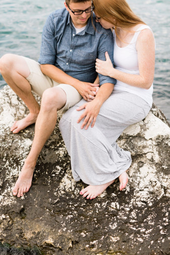 Lake Michigan Eastern Wisconsin Wedding & Engagement Photographer beach two rivers