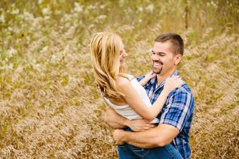 Fun Engagement Couple Photos