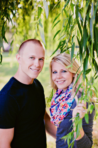 Oak Park Wausau Wisconsin Engagement Photos