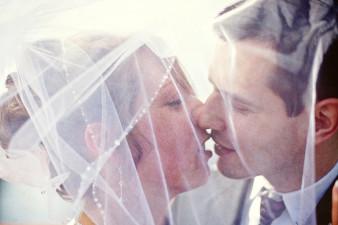 Rib Lake Wedding Photo