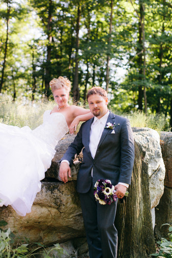 Rib Mountain Wedding Photo