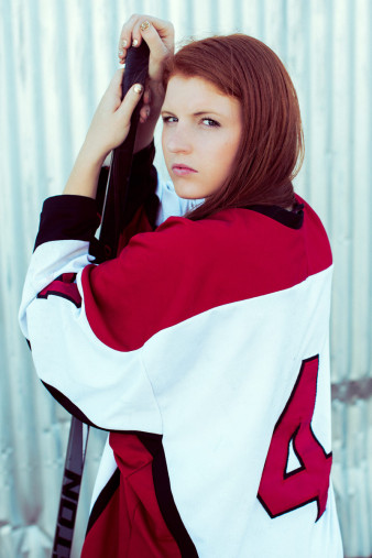 medford girls hockey senior photo ideas