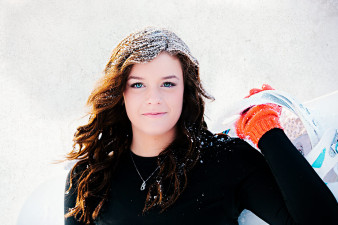 Snowboarding Senior Photo Wausau Senior Photographer Senior Portraits