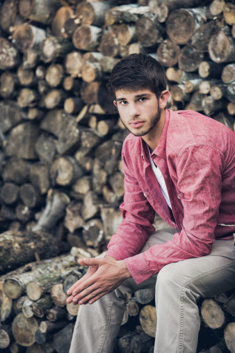 male senior wausau area senior photographers portraits