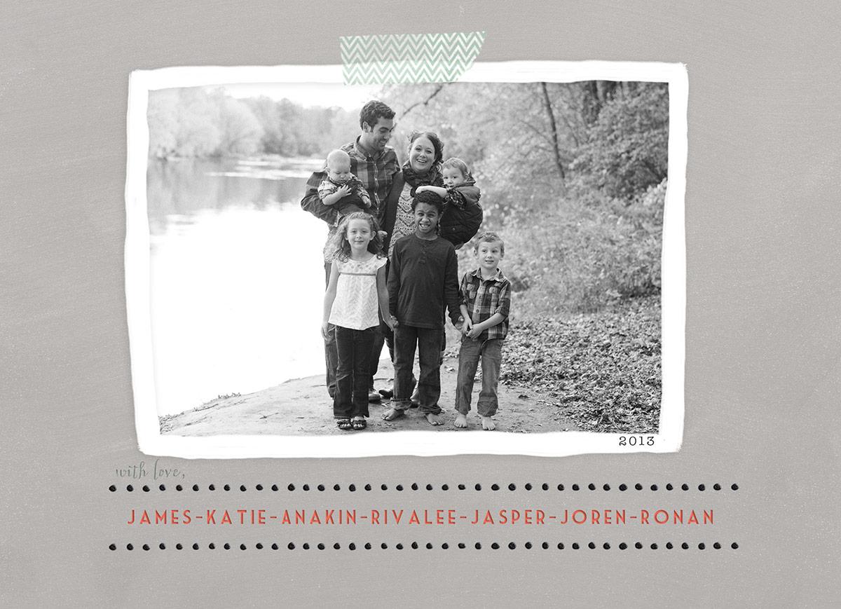 Stokes Family Christmas Card 2013