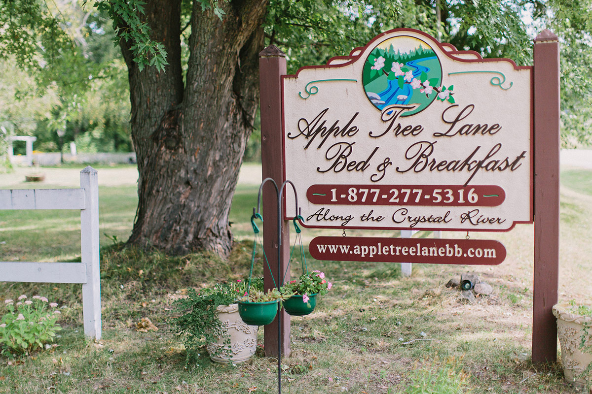 Apple Tree Lane Outdoor wedding venue