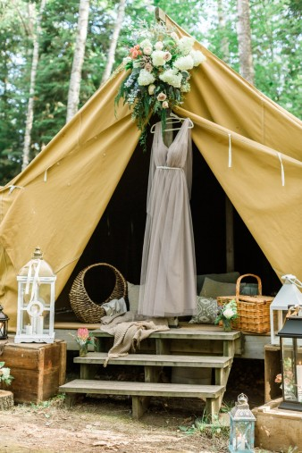 008-Northern-Wisconsin-Camp-Wedding-in-Tent-Elopment-photos