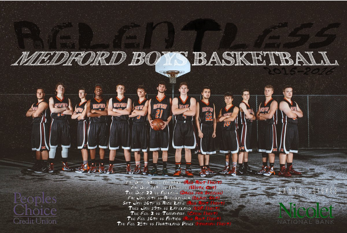 04-Medford-Wisconsin-MASH-High-School-Basketball-Sports-Posters-James-Stokes-Photography