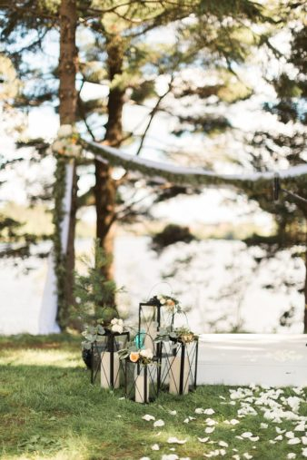20-Back-Yard-Cabin-Wedding-Ceremony-Northern-WI-James-Stokes-Photography