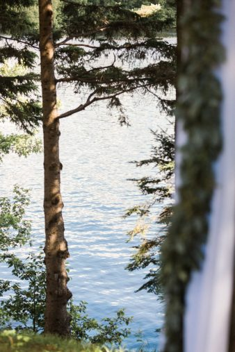 22-Back-Yard-Cabin-Wedding-Ceremony-Northern-WI-James-Stokes-Photography