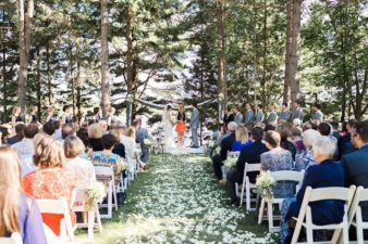 26-Back-Yard-Cabin-Wedding-Ceremony-Northern-WI-James-Stokes-Photography