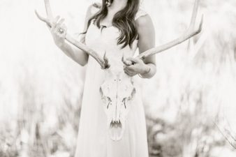 19-Bride-with-Antlers-Black-White-Film-style-Photos
