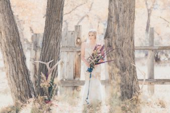 23-Utah-Western-Bride-Antler-Photos