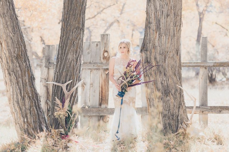 23-Utah-Western-Bride-Antler-Photos