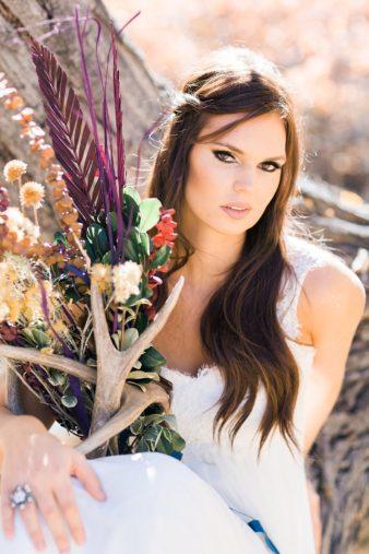 28-Utah-Western-Bride-Antler-Photos