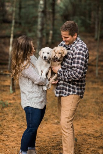 01-Wisconsin-Dells-Engagement-Photos-with-Dogs-James-Stokes-Photography