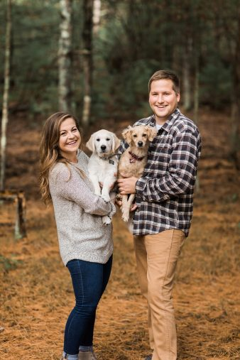 02-Wisconsin-Dells-Engagement-Photos-with-Dogs-James-Stokes-Photography