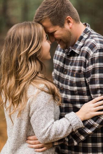 07-Pine-tree-rustic-Central-Wisconsin-Fall-Engagement-Photos-James-Stokes-Photography