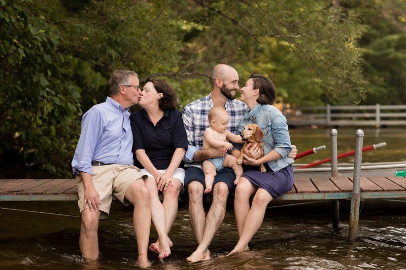 Cabin Family Photos Wisconsin